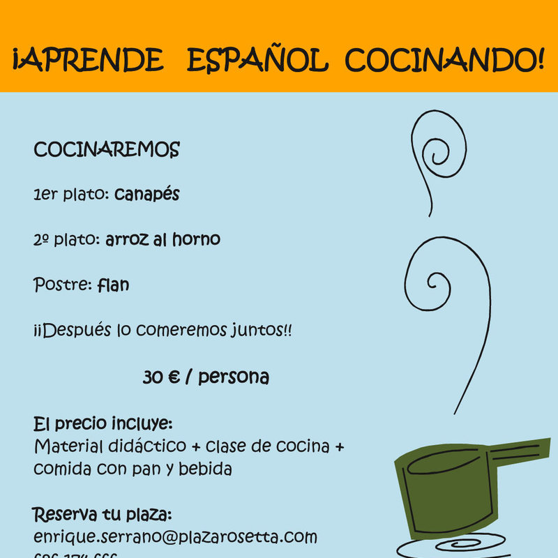 APRENDE ESPAÑOL COCINANDO (Learn Spanish by cooking) photo 3 / 3