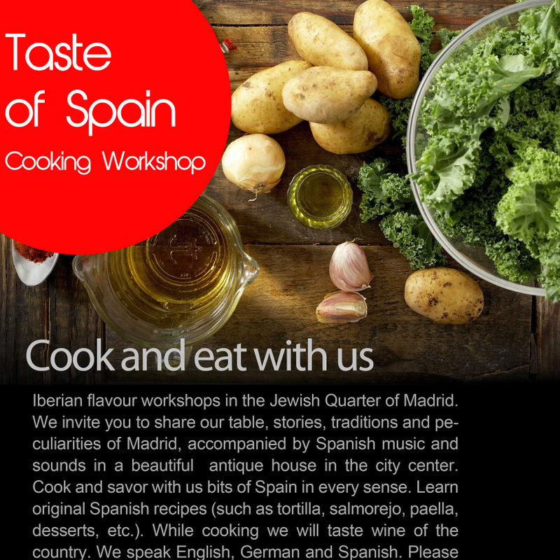 Cooking workshop. Taste of Spain Photo