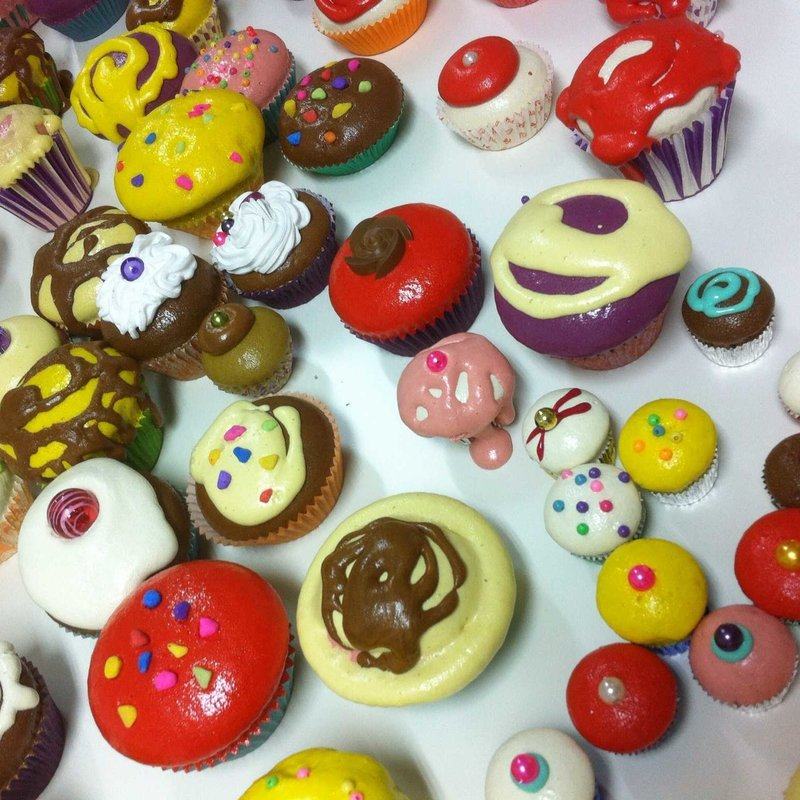 Curso de creación de cup cakes decorativos Photo