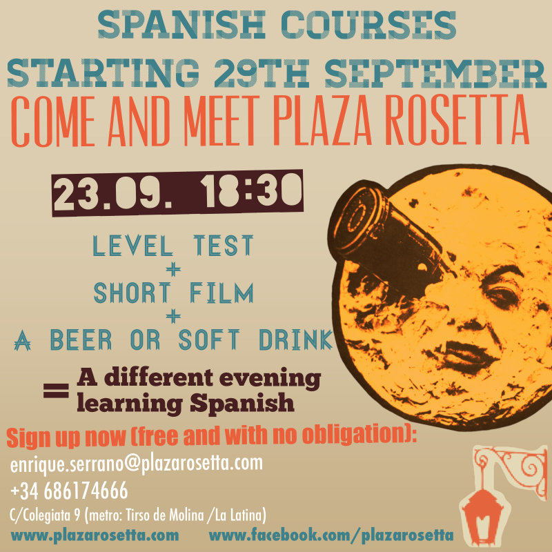 Nuevos Cursos en Plaza Rosetta photo 2 / 3