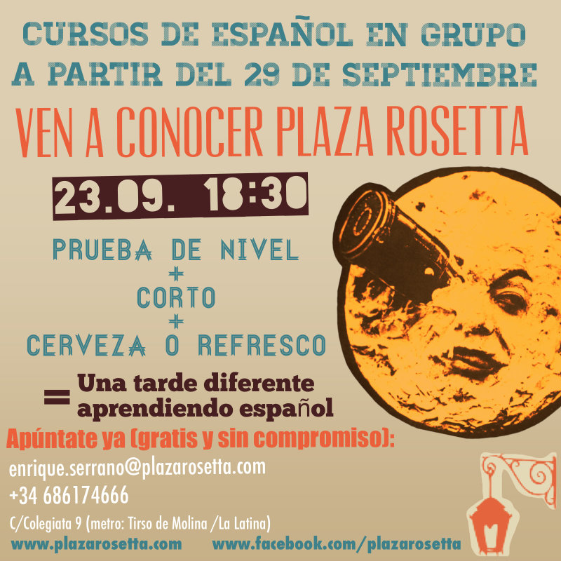 Nuevos Cursos en Plaza Rosetta photo 3 / 3